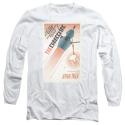 Image for Star Trek Juan Ortiz Episode Poster Long Sleeve Shirt - Ep. 32 the Changeling
