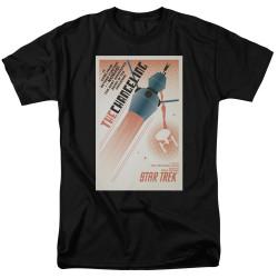 Image for Star Trek Juan Ortiz Episode Poster T-Shirt - Ep. 32 the Changeling on Black