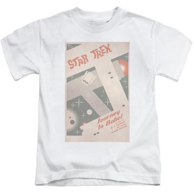 dec633fac Star Trek Juan Ortiz Episode Poster Kids T-Shirt - Ep. 39 Journey to Babel  - NerdKungFu