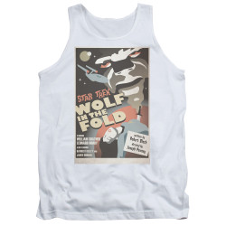 Image for Star Trek Juan Ortiz Episode Poster Tank Top - Ep. 43 Wolf in the Fold
