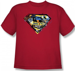 Image for Superman Kids T-Shirt - American Way