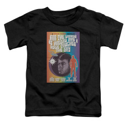 Image for Star Trek Juan Ortiz Episode Poster Toddler T-Shirt - Ep. 63 For the World is Hollow and I have Touched the Sky on Black