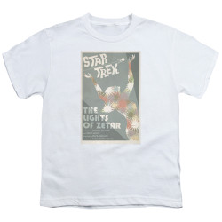Star Trek Juan Ortiz Episode Poster Youth T-Shirt - Ep. 73 the Lights of Zetar