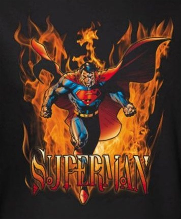 Image for Superman T-Shirt - Through the Fire