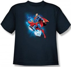 Image for Superman Youth T-Shirt - Crystalize