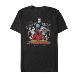 Image for Star Wars Episode 8 the Last Jedi the Bad Guys Heather T-Shirt