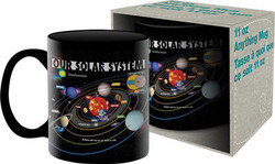 Image for Smithsonian Our Solar System Coffee Mug
