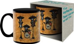 Image for Dia de los Muertos David Lozeau Dos Hombres Coffee Mug
