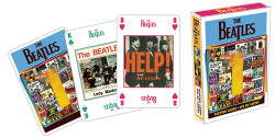 Image for The Beatles Singles Playing Cards