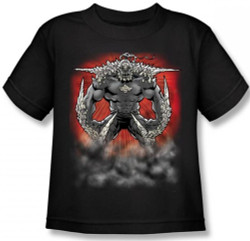 Image for Superman Kids T-Shirt - Doomsday Dust Logo