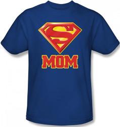 Superman T-Shirt - Super Mom Logo