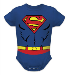 Image for Superman Baby Creeper - Costume