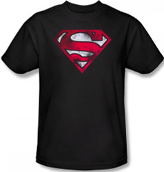 Superman T-Shirt - War Torn Shield Logo