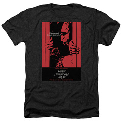 Image for Star Trek the Next Generation Juan Ortiz Episode Poster Heather T-Shirt - Season 2 Ep. 2 Where Silence Has Lease on Black