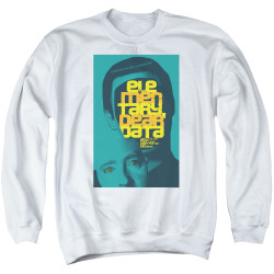Image for Star Trek the Next Generation Juan Ortiz Episode Poster Crewneck - Season 2 Ep. 3 Elementary Dear Data