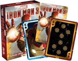 Image for Iron Man 3 Playing Cards