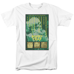 Image for Star Trek the Next Generation Juan Ortiz Episode Poster T-Shirt - Season 3 Ep. 6 Booby Trap