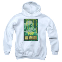 Image for Star Trek the Next Generation Juan Ortiz Episode Poster Youth Hoodie - Season 3 Ep. 6 Booby Trap