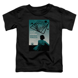Image for Star Trek the Next Generation Juan Ortiz Episode Poster Toddler T-Shirt - Season 3 Ep. 14 A Matter of Perspective on Black