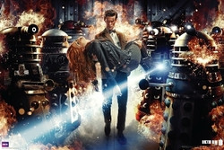 image for Doctor Who Poster - Fire