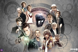 Image for Doctor Who Poster - All the Doctors