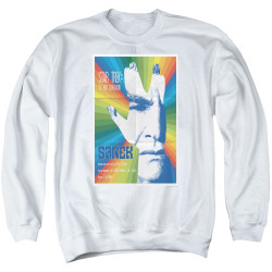 Image for Star Trek the Next Generation Juan Ortiz Episode Poster Crewneck - Season 3 Ep. 23 Sarek