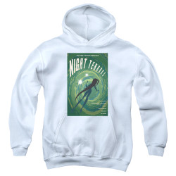 Image for Star Trek the Next Generation Juan Ortiz Episode Poster Youth Hoodie - Season 4 Ep. 17 Night Terrors