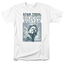 Image for Star Trek the Next Generation Juan Ortiz Episode Poster T-Shirt - Season 5 Ep. 4 Silicon Avatar