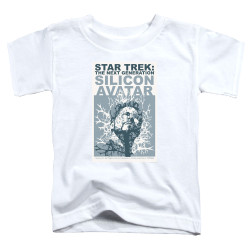 Image for Star Trek the Next Generation Juan Ortiz Episode Poster Toddler T-Shirt - Season 5 Ep. 4 Silicon Avatar