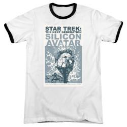 Image for Star Trek the Next Generation Juan Ortiz Episode Poster Ringer - Season 5 Ep. 4 Silicon Avatar