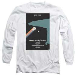 image for Star Trek the Next Generation Juan Ortiz Episode Poster Long Sleeve Shirt - Season 5 Ep. 6 Unification Part I