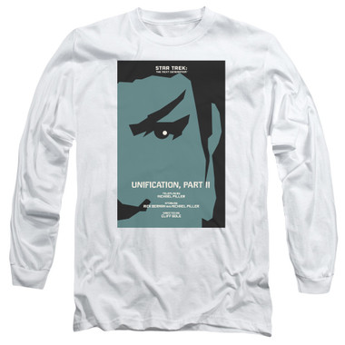 Image for Star Trek the Next Generation Juan Ortiz Episode Poster Long Sleeve Shirt - Season 5 Ep. 7 Unification Part II