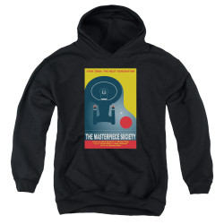 Image for Star Trek the Next Generation Juan Ortiz Episode Poster Youth Hoodie - Season 5 Ep. 13 the Masterpiece Society on Black