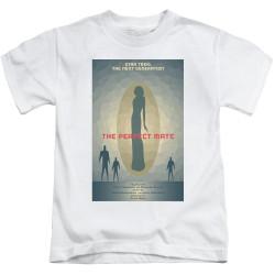 Image for Star Trek the Next Generation Juan Ortiz Episode Poster Kids T-Shirt - Season 5 Ep. 21 the Perfect Mate