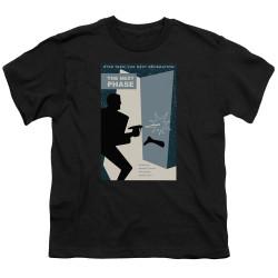 Image for Star Trek the Next Generation Juan Ortiz Episode Poster Youth T-Shirt - Season 5 Ep. 24 the Next Phase on Black