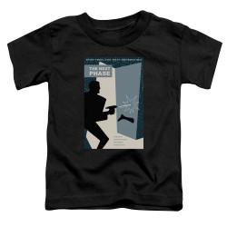 Image for Star Trek the Next Generation Juan Ortiz Episode Poster Toddler T-Shirt - Season 5 Ep. 24 the Next Phase on Black