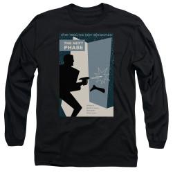 Image for Star Trek the Next Generation Juan Ortiz Episode Poster Long Sleeve Shirt - Season 5 Ep. 24 the Next Phase on Black
