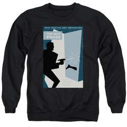Image for Star Trek the Next Generation Juan Ortiz Episode Poster Crewneck - Season 5 Ep. 24 the Next Phase on Black