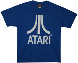 Image Closeup for Atari Logo T-Shirt