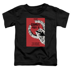 Image for Star Trek the Next Generation Juan Ortiz Episode Poster Toddler T-Shirt - Season 7 Ep. 5 Gambit Part II on Black