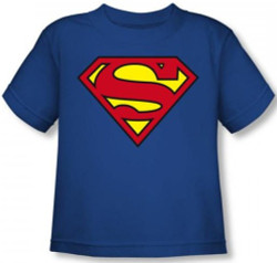 Image for Superman Toddler T-Shirt - Classic Logo
