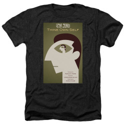 Image for Star Trek the Next Generation Juan Ortiz Episode Poster Heather T-Shirt - Season 7 Ep. 16 Thine Own Self on Black