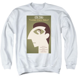 Image for Star Trek the Next Generation Juan Ortiz Episode Poster Crewneck - Season 7 Ep. 16 Thine Own Self