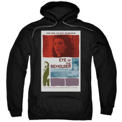 Image for Star Trek the Next Generation Juan Ortiz Episode Poster Hoodie - Season 7 Ep. 18 Eye of the Beholder on Black