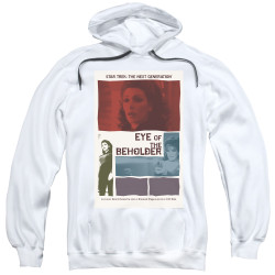 Image for Star Trek the Next Generation Juan Ortiz Episode Poster Hoodie - Season 7 Ep. 18 Eye of the Beholder