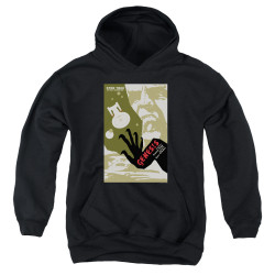 Image for Star Trek the Next Generation Juan Ortiz Episode Poster Youth Hoodie - Season 7 Ep. 19 Genesis on Black