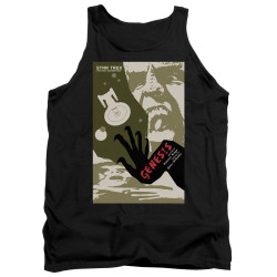 Image for Star Trek the Next Generation Juan Ortiz Episode Poster Tank Top - Season 7 Ep. 19 Genesis on Black