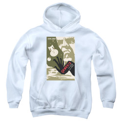 Image for Star Trek the Next Generation Juan Ortiz Episode Poster Youth Hoodie - Season 7 Ep. 19 Genesis