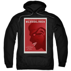 Image for Star Trek the Next Generation Juan Ortiz Episode Poster Hoodie - Season 7 Ep. 22 Bloodlines on Black