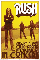 Image for Rush Poster - Concert